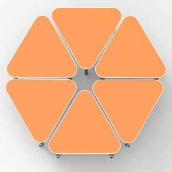 Triangle Desk  Top - OrWH